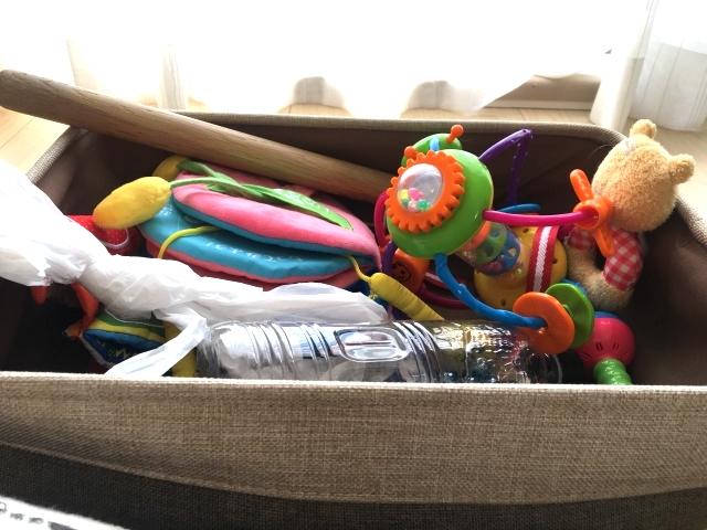 おもちゃ箱 ダニ